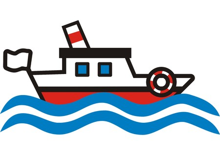smokestack: cruise ship