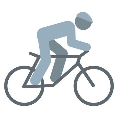 cyclist, icon