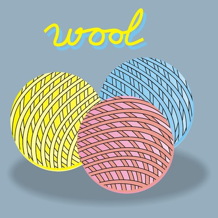 wool, background
