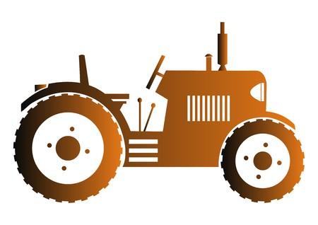 tillage: icono de tractor