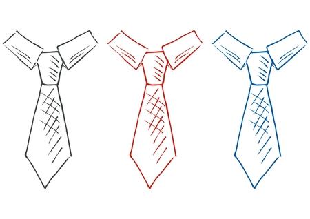 crayon, colored set, sketch, vector icon Illustration