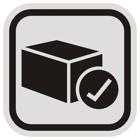 Vector Illustration Keywords: Icon for issued goods. Иллюстрация