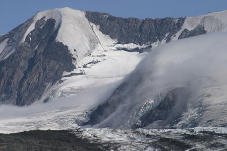Crow Pass, Alaska. Near Raven Glacier.