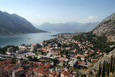 kotor: Kotor bay in Montenegro (Europe)
