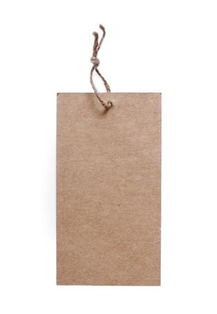 Blank label.