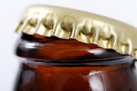 Opened bottle.