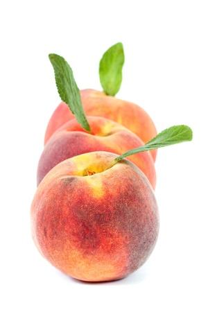 Peaches. Stock Photo - 10322808