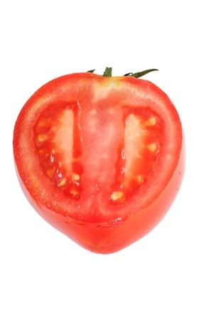 Half of tomato. Stock Photo - 10350342