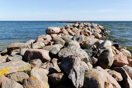 breakwater: Rompeolas.