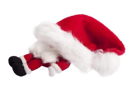 Sleeping christmas gnome. Stock Photo - 10785629