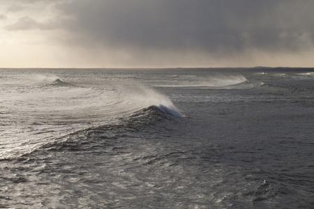 Stormy sea. photo