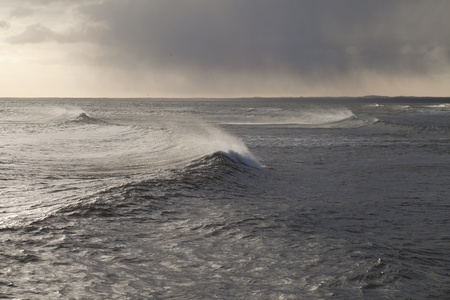 Stormy sea. Stock Photo