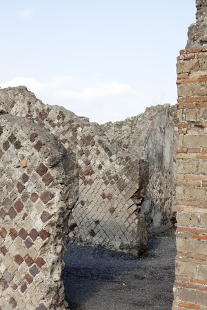 Pompeii ruins in Italy  photo