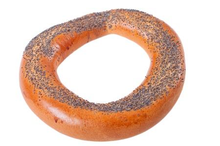 boublik: Ring bagel isolated on white