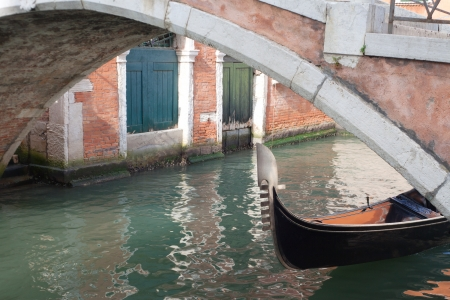 Reflections in Venice, Italy  photo