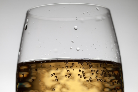 Glass, drink and bubbles  photo
