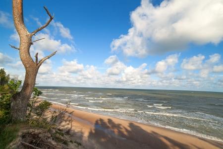 Matin � la mer Baltique c�te