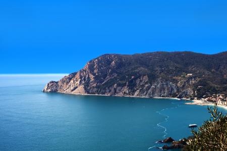 monterosso: Mediterranean sea coast at Monterosso, Cinque terre, Italy