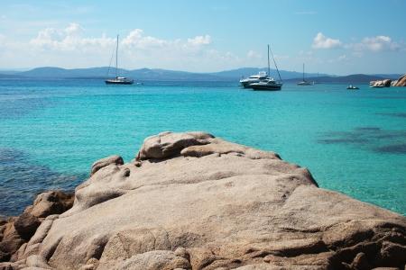 Maddalena archipelago landscape, Sardinia, Italy. Stock fotó