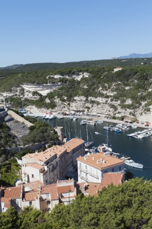 Port of Bonifacio , Corsica, France. photo