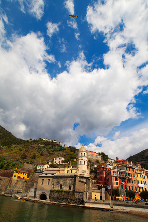 vernazza: Vernazza in Cinque terre, Italy.