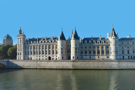 Palace Conciergerie in Paris, France.