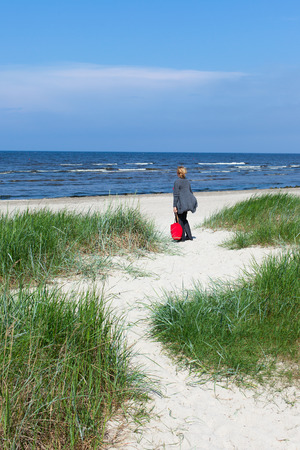 jurmala: Beach at Jurmala, Latvia.