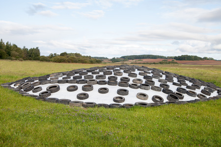 Silage Storage In Countryside. Stock Photo   31393279