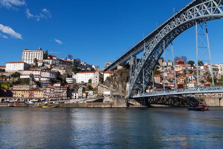 dom: Pont Dom Luís I, Porto, Portugal.