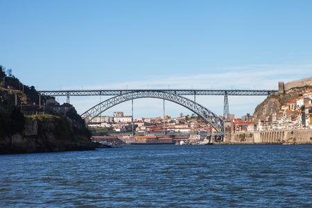 dom: Pont Dom Lus I, Porto, Portugal.