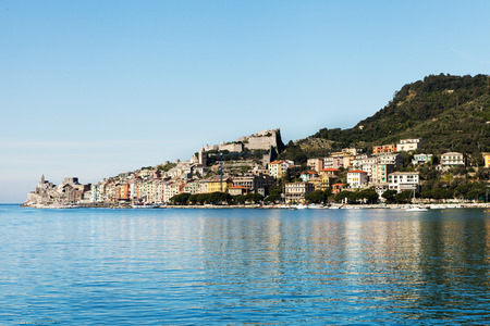 liguria: Seaside of Porto Venere city, Liguria, Italy.