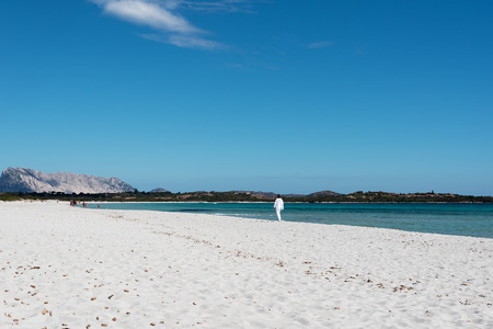 cinta: La Cinta beach, San Teodoro, Sardinia, Italy.
