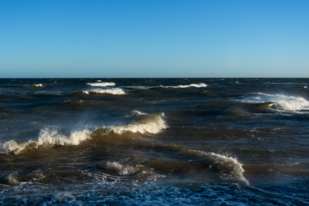 baltic: Windy day in Baltic sea.