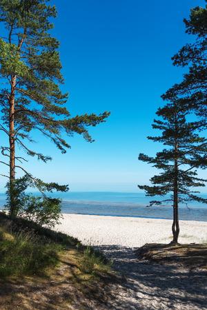 restful: Restful summer day at gulf of Riga