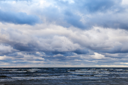 baltic: Stormy Baltic sea. Stock Photo