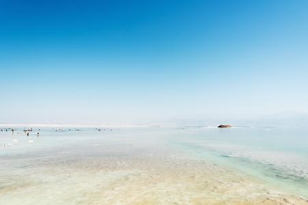 Dead sea, Israel coast.