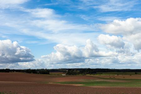Countryside landscape, Latvia.