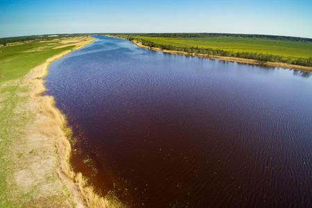 Lielupe river, Latvia.