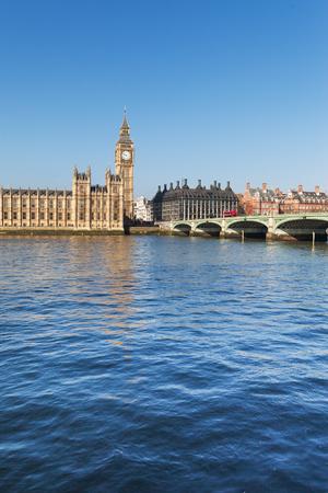 Thames river, London, United Kingdom.