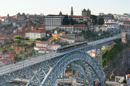 Afternoon in Porto, Portugal.