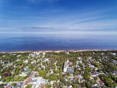 Jurmala city and area, Latvia.
