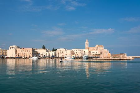 Giovinazzo harbor, Italy. Stock Photo