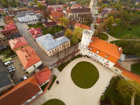 Cesis city and castle, Latvia.