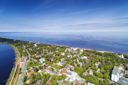 Jurmala city and surroundings, Latvia.