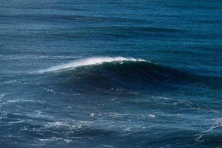Splashing Atlantic ocean wave.