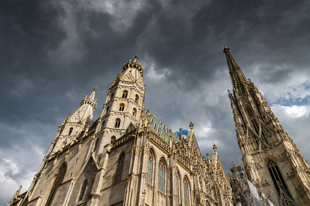 St. Stephen's Cathedral, Vienna, Austria. 免版税图像