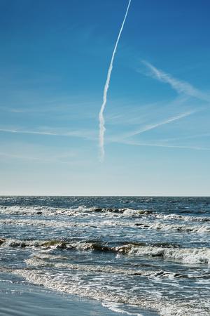 Blue Baltic sea. Standard-Bild