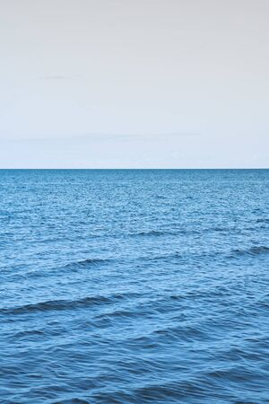 Ancora giorno d'estate dal Golfo di Riga, Mar Baltico.