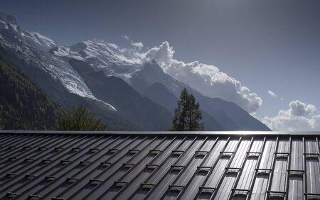 Highland of Alps at Chamonix, France.