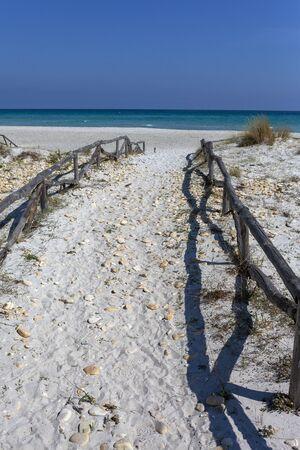 Mediterranean sea next to San Teodoro village, Sardinia, Italy.